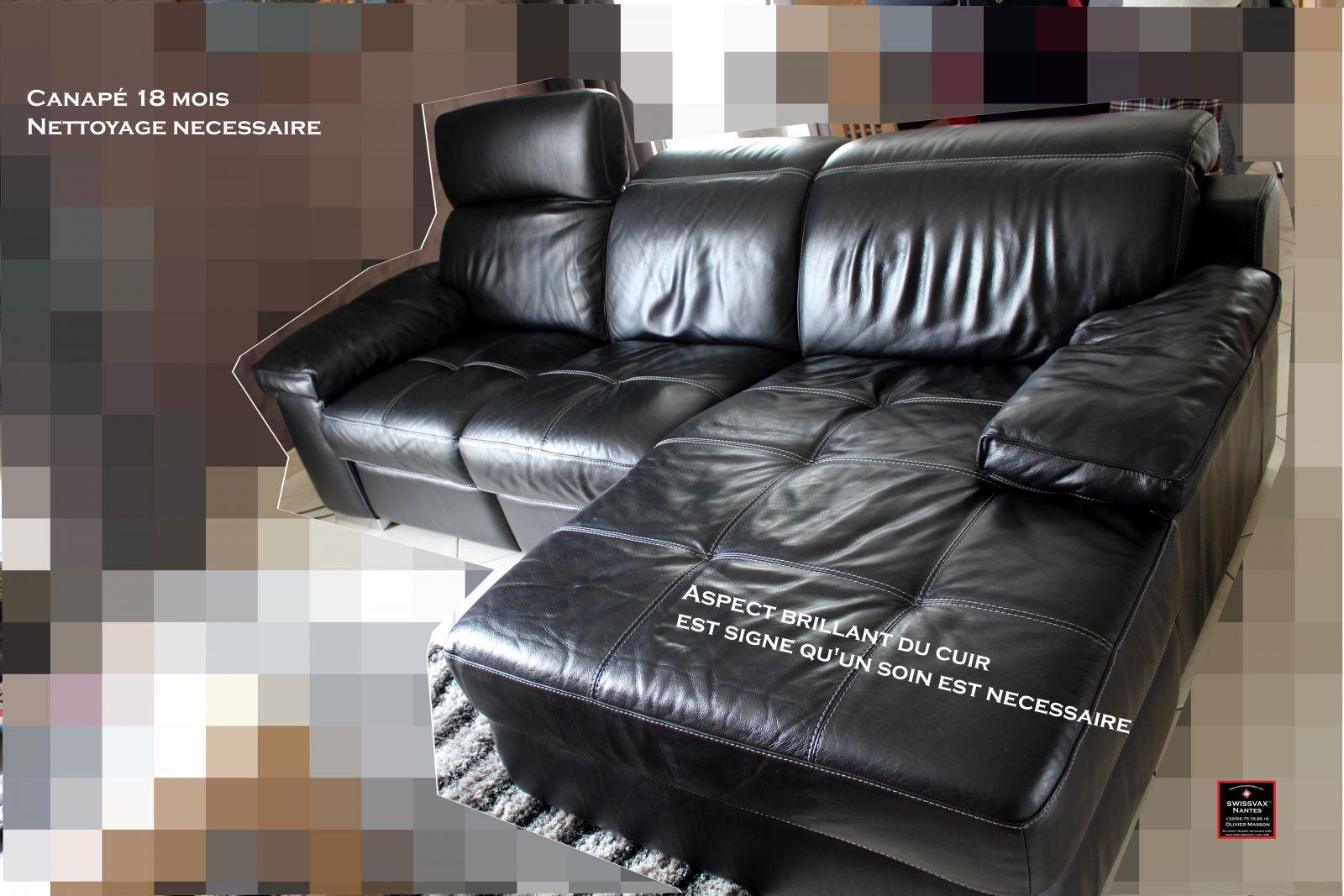 Nettoyer canap cuir finest coloration canaps fauteuils - Comment nettoyer des chaises en cuir ...